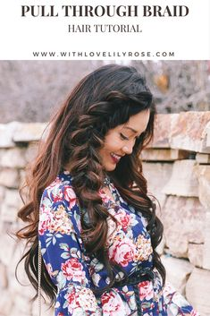 Hair Tutorial: chunky pull through bubble braid - With Love Lily Rose