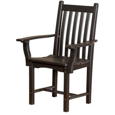 Wildridge Recycled Plastic Classic Side Chair with Arms