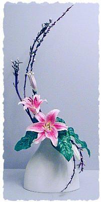 Stargazer lilies...simple elegance.