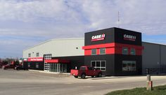 Delta Case IH Dealership Steelway Building Systems
