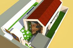 Projet de Villa moderne a Lome au TOGO Architecture tribal africaine, Albert Kwessi
