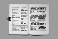 Cassandra reçoit le « Certificat d'excellence typographique» du TDC