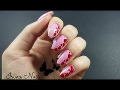 1# Valentines`Day 2017 - YouTube Heart Nails, My Nails, Nail Art, Valentines, Day, Artwork, Youtube, Channel, Museum