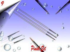 Nailart, New Nail Designs, Brushes