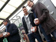 Daniele Massaro e Stephan El Shaarawy all'A.S. Masseroni Marchese Milan Scuola Calcio.