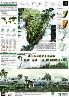 Propuestas de Argentina, Colombia y Brasil se adjudican primeros lugares del TIL 2015,Segundo Lugar: Lámina #01. Image Cortesía de TIL 2015