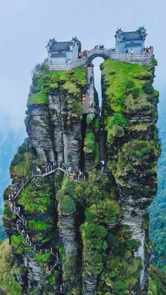Fanjing Mountain, Guizhou Province, China, - My Dream Life Beautiful Places To Travel, Wonderful Places, Cool Places To Visit, Amazing Places On Earth, Places Around The World, Around The Worlds, Fantasy Landscape, Beautiful Landscapes, Wonders Of The World