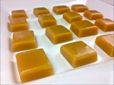 caramel candies made in the microwave.