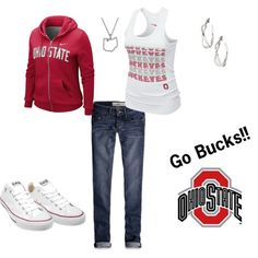 Go Bucks!, created by heather767 on Polyvore