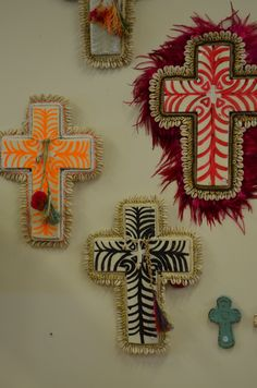 The sign of the cross! Statement wall art at The General Store, Osborne Park.