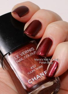 Chanel Tulipe Noire 457 fall 2007 swatches