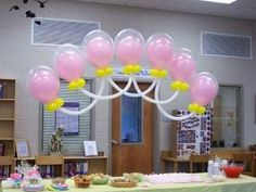 Baby Shower Balloon Decorations by jacfromkc