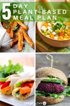 When it comes to healthy eating, including more plants in your diet is always a good choice which is why we created this plant-based meal plan which includes a dinner recipe for each night of the week! Chicken Breast Recipes Healthy, Healthy Chicken Recipes, Diet Recipes, 500 Calorie Meals, Plant Based Meal Planning, Healthy Eating, Healthy Salads, Healthy Foods, Healthy Sandwiches