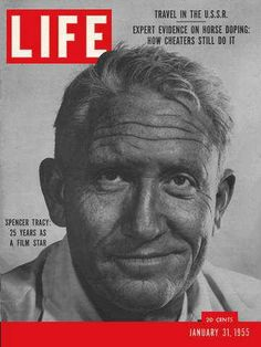 """Spencer Tracy ~ Jan. 31, 1955 issue ~ Old Life Magazines ~ Click image to purchase. Enter """"pinterest"""" at checkout for a 12% discount."""