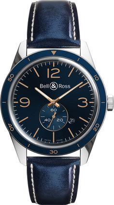 La Cote des Montres : Les montres Bell & Ross Vintage BR 123 & BR 126 Aéronavale - La montre des officiers de l'Aéronavale