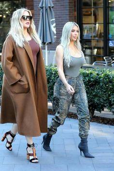 Kim Kardashian and khloe / january 11, 2018