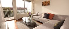 Book a modern apartment for a couple of days, weeks, months or years in the city centre of Oslo, Bergen and Trondheim. More than 250 apartments. Rental Apartments, One Bedroom, Oslo, Couch, City, Norway, Modern, Furniture, Home Decor