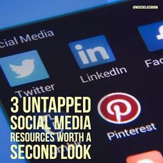 3 Untapped Social Media Resources Worth A Second Look | Blogging About The Web 2.0 Connected Classroom | Bloglovin'