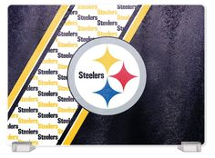 PITTSBURGH STEELERS TEMPERED GLASS CUTTING BOARD