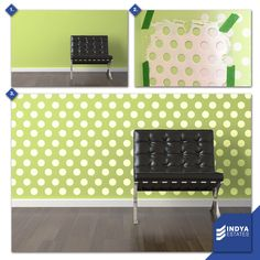 Don't just stay with your walls, play with it. #IndyaEstates #RealEstates #SkyView #Greens #DIY
