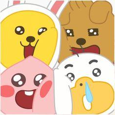 리틀프렌즈 슈퍼 큐트 카카오프렌즈 큰 이모티콘 : 네이버 블로그 Apeach Kakao, Friends Gif, Kakao Friends, I Wallpaper, Emoticon, Cute Designs, Pikachu, Funny Quotes, Hand Painted