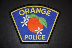 Orange Police Patch, Orange County, California (Current 1957 Issue)