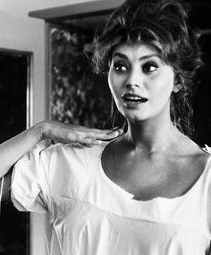 Alfred Eisenstaedt's picture of Sophia Loren 1961