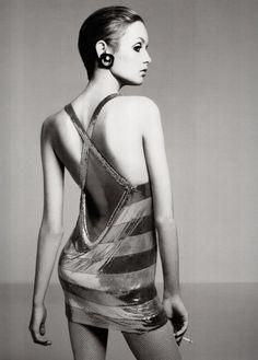 1967. Model Twiggy (born Lesley Lawson). Photo by Richard Avedon (B1923 - D2004)