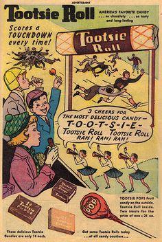 Vintage Ad #576: Rah! Rah! Rah! with the 1930s than 1950s.| Flickr - Photo Sharing!