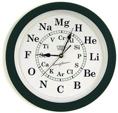 Who doesn't need a Periodic Table clock!?!