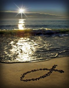 Message In The Sand Photograph by JZLcreates on Etsy God Loves Me, Jesus Loves Me, I Love The Beach, Walk By Faith, Jesus Is Lord, Spiritual Inspiration, Beach Pictures, God Is Good, Christian Life