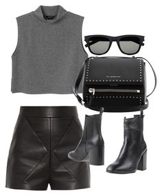 A fashion look from January 2016 featuring turtle neck shirt, high-waisted shorts and leather ankle boots. Browse and shop related looks. Lucas Scott, Casual Fall Outfits, Chic Outfits, Petite Skinny Jeans, Wearing All Black, Winter Fashion Boots, Womens Fashion For Work, Fashion Women, Instagram Outfits