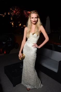 Natasha Poly at the L'Oreal and Cannes Film Festival 15 Ans Diner in Cannes on May 17th, 2012