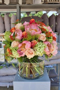 RHS Hampton Court Palace Flower Show 2013 – Florist Nikki Tibbles of Wild at Heart's Stand | Flowerona