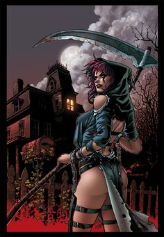 Grimm Tales of Terror by Richard Ortiz___!!!