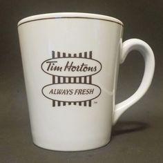 Tim Hortons Coffee Mug Cup Always Fresh Toujours Frais Steelite England Tim Hortons Coffee, Mug Cup, Coffee Mugs, England, Fresh, Tableware, Dinnerware, Dishes, Coffee Cup