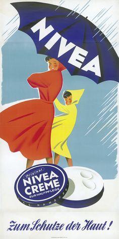Affiche NIVEA, Allemagne, 1912