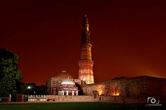 #DidYouKnow : #QutubMinar is the largest #brick  #minaret  in the #world.