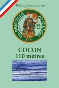 Farbiges Klöppelgarn Cocon Calais Nr. 6934 Kornblume