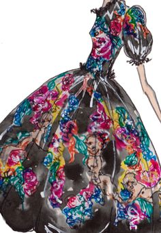 "J.Larkowsky Illustration | ""If its not Baroque....."": Dolce & Gabbana Fall 2012"