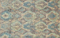 Ikat rug available in multiple sizes at Pak Oriental Rugs,  San Francisco.