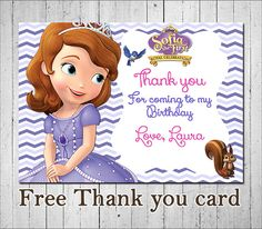 Sophia The First Invitation Sophia The First by MayPartyPrintables