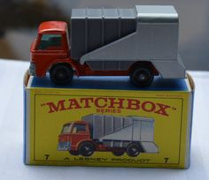 1960's Lesney Matchbox No 7 Refuse Truck with Original Box  https://www.etsy.com/shop/WillsAttic