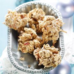 Oatmeal biscuits with apple recipes Apple Recipes, Raw Food Recipes, Holiday Recipes, Holiday Snacks, Plats Weight Watchers, Weight Watchers Meals, Good Food, Yummy Food, Tasty