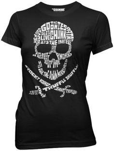Goonies shirt! I need one!