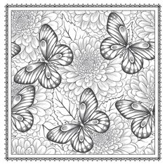 Amazon Blossom Magic Beautiful Floral Patterns Coloring Book