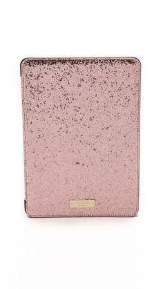 Kate Spade New York Glitter Bug iPad Air 2 Folio Hardcase