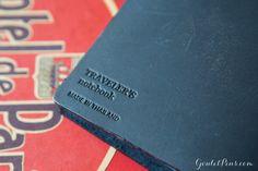 Fountain Pen Paper | Midori Traveler's Notebook - Blue (Regular Size) - 2015 Special Edition | GouletPens.com