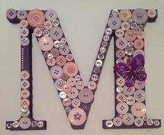 #buttons #lovely #mum #baby #gift #wedding    www.facebook.com/juliereidlovelyletters Button Letters, Gift Wedding, Birthday Gifts, Birthdays, Buttons, Gift Ideas, Personalized Items, Facebook, Handmade Gifts