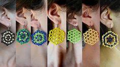 Miel Accesorios BA Kaleidoscope Earrings @MielAccesoriosBA